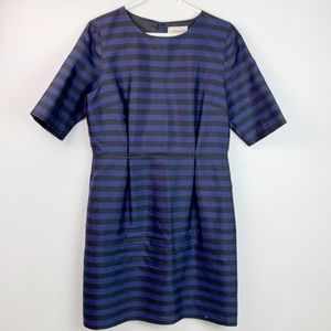 Canvas by Lands End, silk/cotton 3/4 sleeve dress